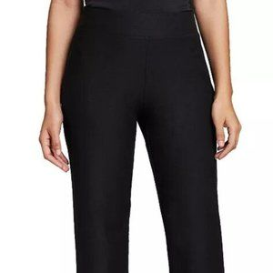 NWT Eileen Fisher Stretch Crepe Straight Pant Sz M